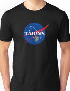 Tardis NASA, Parody Dr Dalek Who Doctor Space Time BBC Tenth Police Box Unisex T-Shirt
