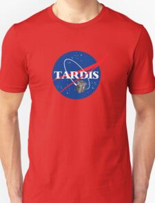 Tardis NASA, Parody Dr Dalek Who Doctor Space Time BBC Tenth Police Box Unisex T-Shirt