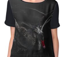 Black swan Chiffon Top