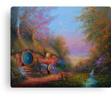 Evening In The Shire Canvas Print