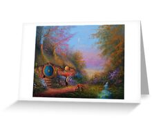 Evening Shire Greeting Card