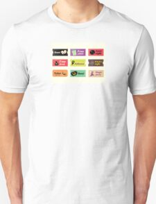 Retro halloween vector tickets. Going to Halloween party? Booo! Use my tickets! Unisex T-Shirt