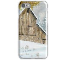 Early Snow iPhone Case/Skin