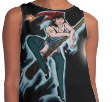 Red Hat Witch Contrast Tank