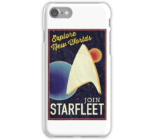 Star Trek Recruitment: Join Starfleet iPhone Case/Skin