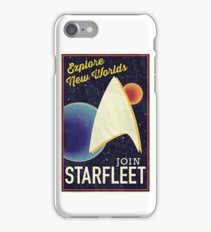 Star Trek Recruitment: Join Starfleet iPhone Case/Skin