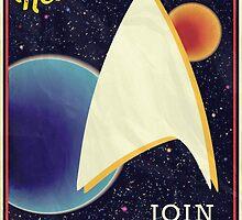Star Trek Recruitment: Join Starfleet by brananna