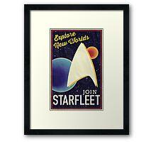 Star Trek Recruitment: Join Starfleet Framed Print