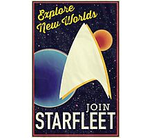 Star Trek Recruitment: Join Starfleet Photographic Print