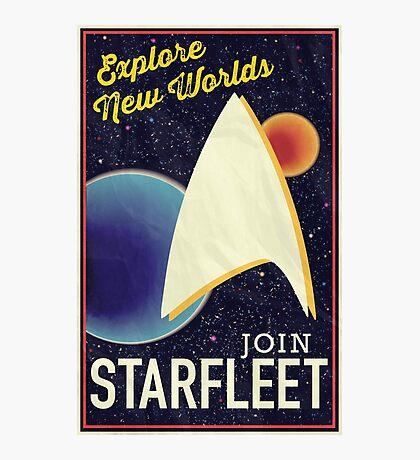 Star Trek Recruitment: Join Starfleet Photographic Print