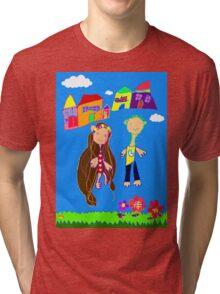 Love Blooms Here Tri-blend T-Shirt