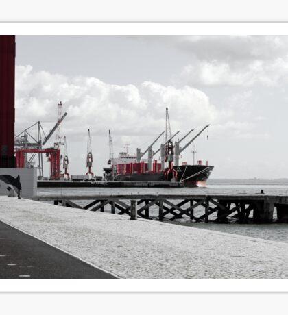 Cargo Lisbonne Portugal S Sticker