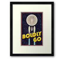 Star Trek: Boldly Go Framed Print