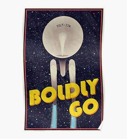 Star Trek: Boldly Go Poster