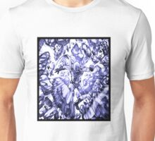 one_man_punch_explosion_blue Unisex T-Shirt