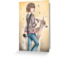 Art of Life is strange Greeting Card