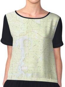 USGS TOPO Map Arkansas AR Chidester 258198 1973 24000 Chiffon Top
