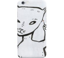 Smart cat iPhone Case/Skin