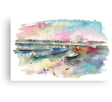 Balbriggan Harbour 02 Canvas Print