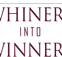 Turn Whiners Into Winners Sticker