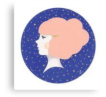 Little Peach Canvas Print