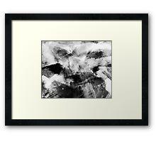Charcoal Haze Framed Print