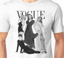 """""""VOGUE"""" Marilyn Monroe, Judy Garland, Audrey Hepburn & Elizabeth Montgomery Unisex T-Shirt"""