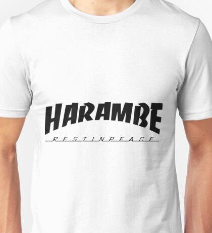 Harambe - Trasher Unisex T-Shirt