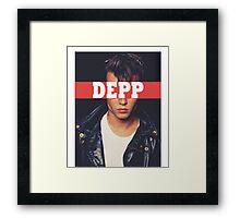 DEPP Framed Print