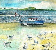 Seagulls In Ireland by Goodaboom