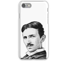 Tesla - Portrait iPhone Case/Skin