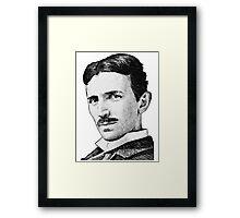 Tesla - Portrait Framed Print