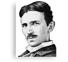 Tesla - Portrait Canvas Print
