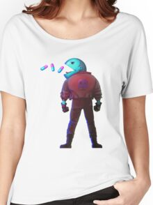 Pacman illustration Women's Relaxed Fit T-Shirt