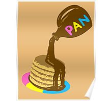 Pansexual Pancakes-Sexuality Designs Poster