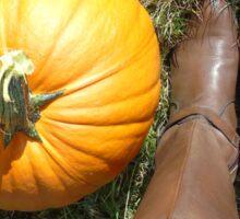 Pumpkin season Sticker