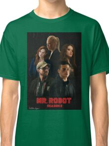 Mr. Robot Season 2 Classic T-Shirt