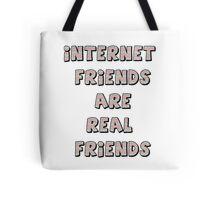 internet friends 3 Tote Bag
