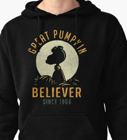 Great Pumpkin Believer Shirt Pullover Hoodie