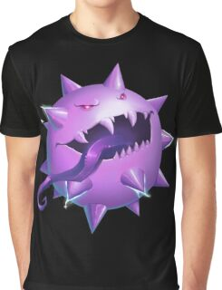 Haunted Pokeball - Pokemon rendition Graphic T-Shirt