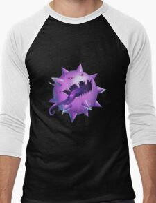 Haunted Pokeball - Pokemon rendition Men's Baseball ¾ T-Shirt