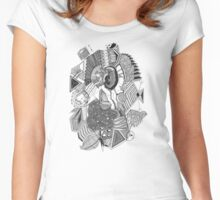 ...and that's how babies are made! Women's Fitted Scoop T-Shirt