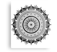 Zen Circle Metal Print