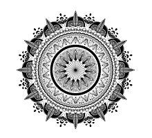 Zen Circle Photographic Print