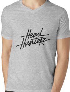 Headhunterz Mens V-Neck T-Shirt