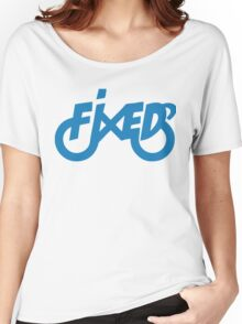 Fixedlife Fixie Design Women's Relaxed Fit T-Shirt