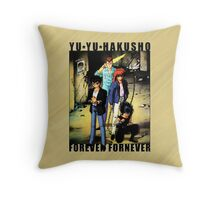 Yu Yu Hakusho - Forever Fornever Throw Pillow