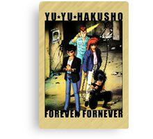 Yu Yu Hakusho - Forever Fornever Canvas Print