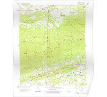 USGS TOPO Map Arkansas AR Bates 257940 1958 24000 Poster