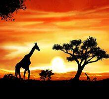 Africa by Richard Eijkenbroek